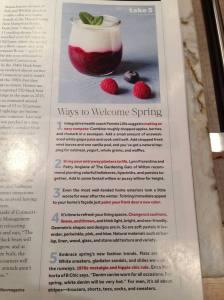 Wilton Magazine Take 5